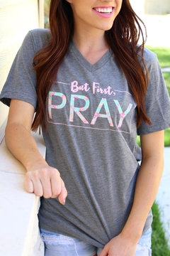 Shoptiques Product: First Pray Tee