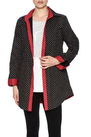 Au Ren Polka Dot Long Shirt - Product Mini Image