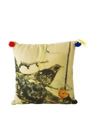 Au cabaret vert Bird Pillow - Product Mini Image
