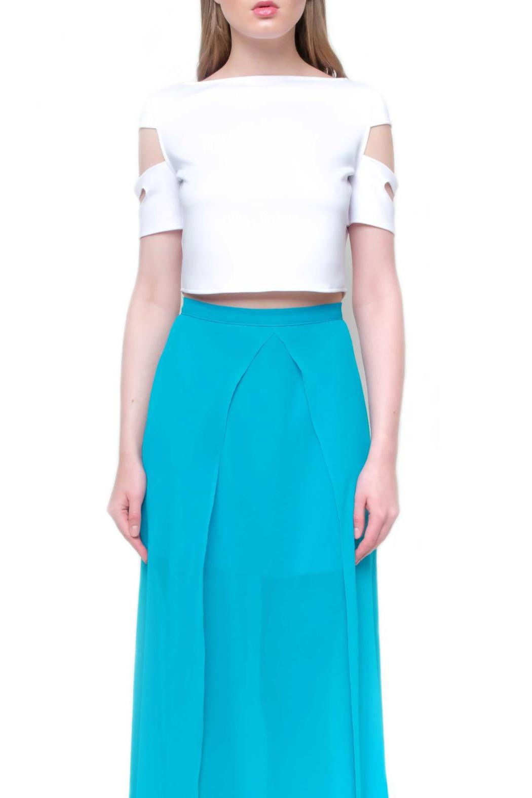 Aubert Design Crop Top Monroe - Side Cropped Image