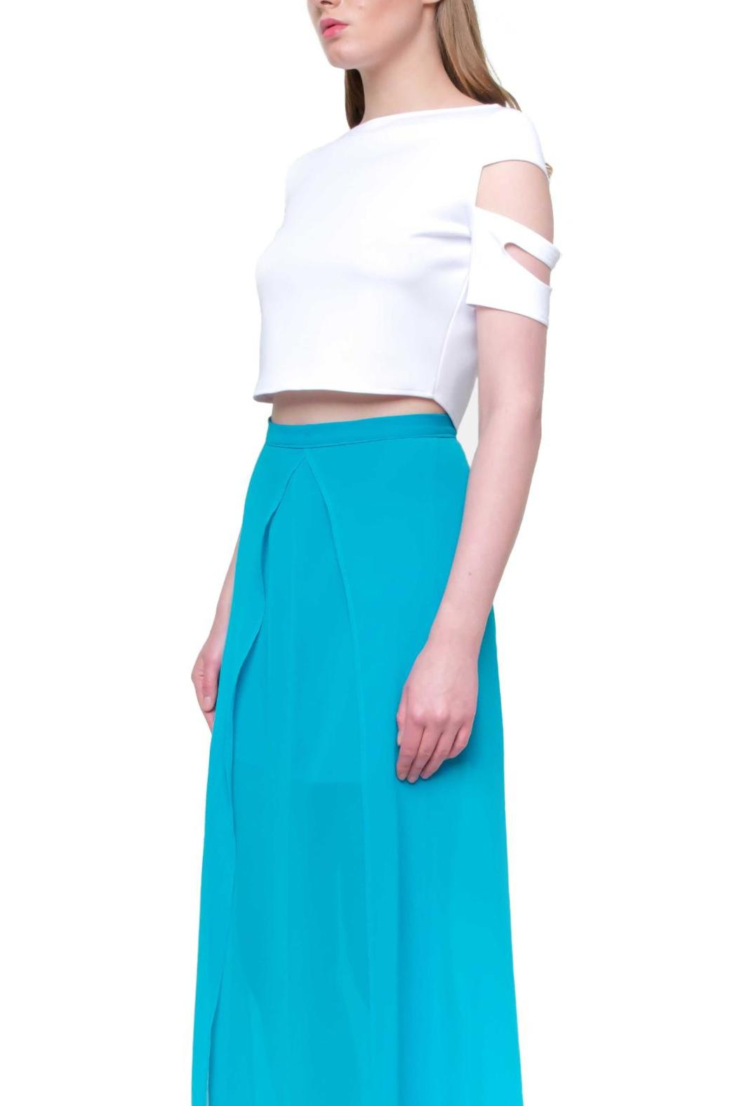 Aubert Design Crop Top Monroe - Front Cropped Image
