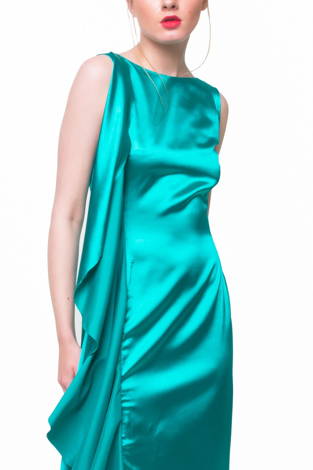 Aubert Design Lauren Satin Dress - Main Image