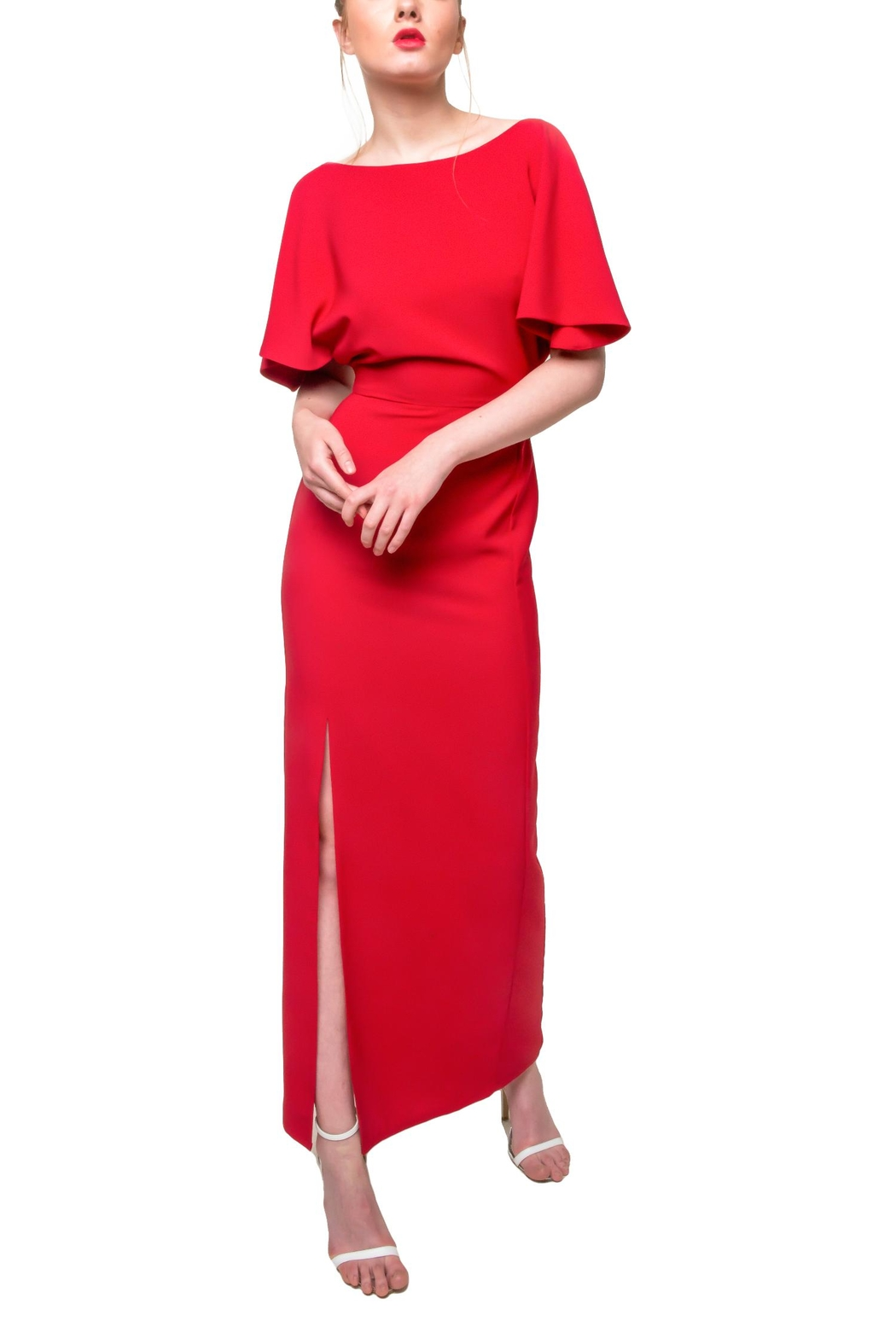 Aubert Design Red Dress Grace - Front Cropped Image