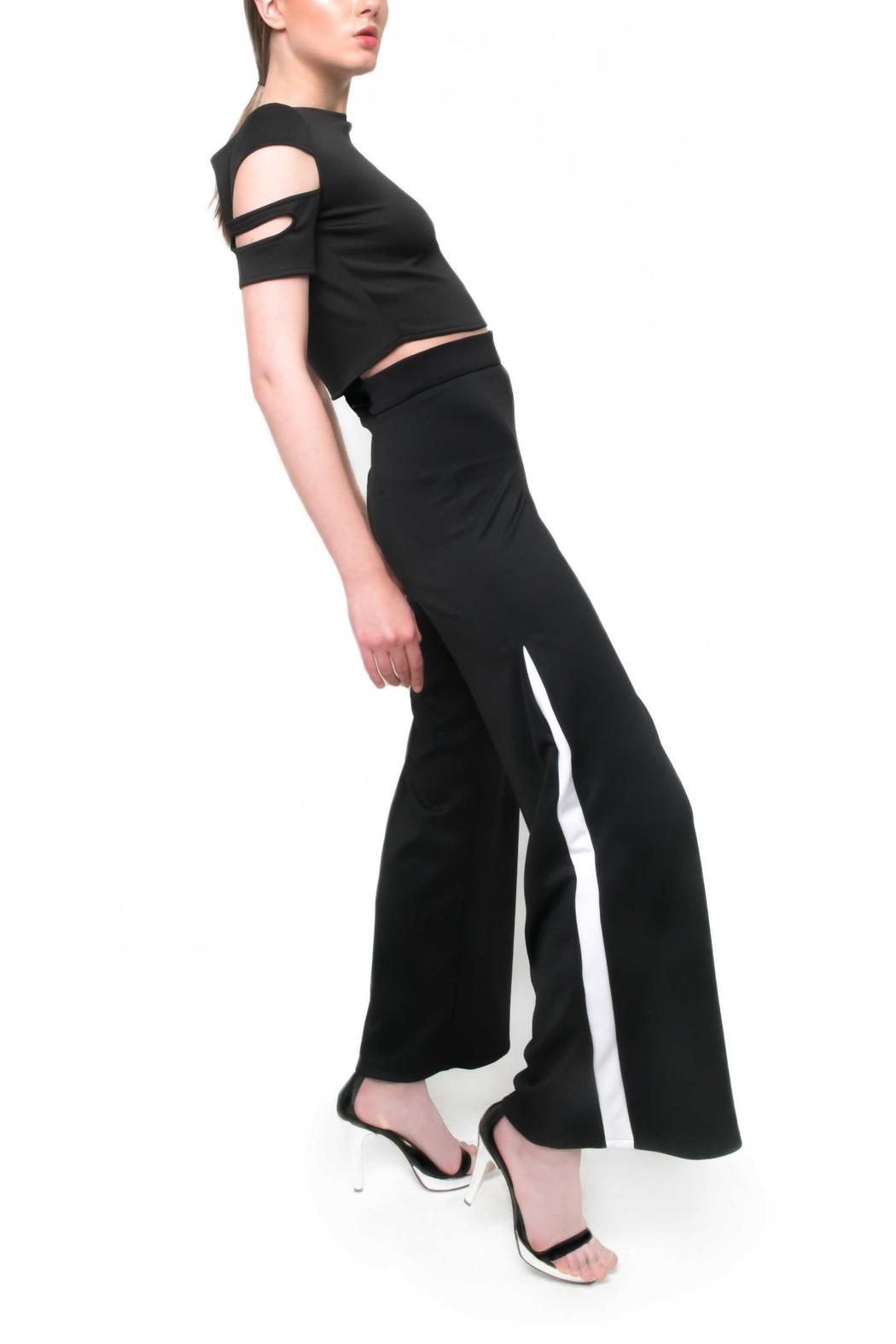 Aubert Design Taylor Trousers - Front Cropped Image