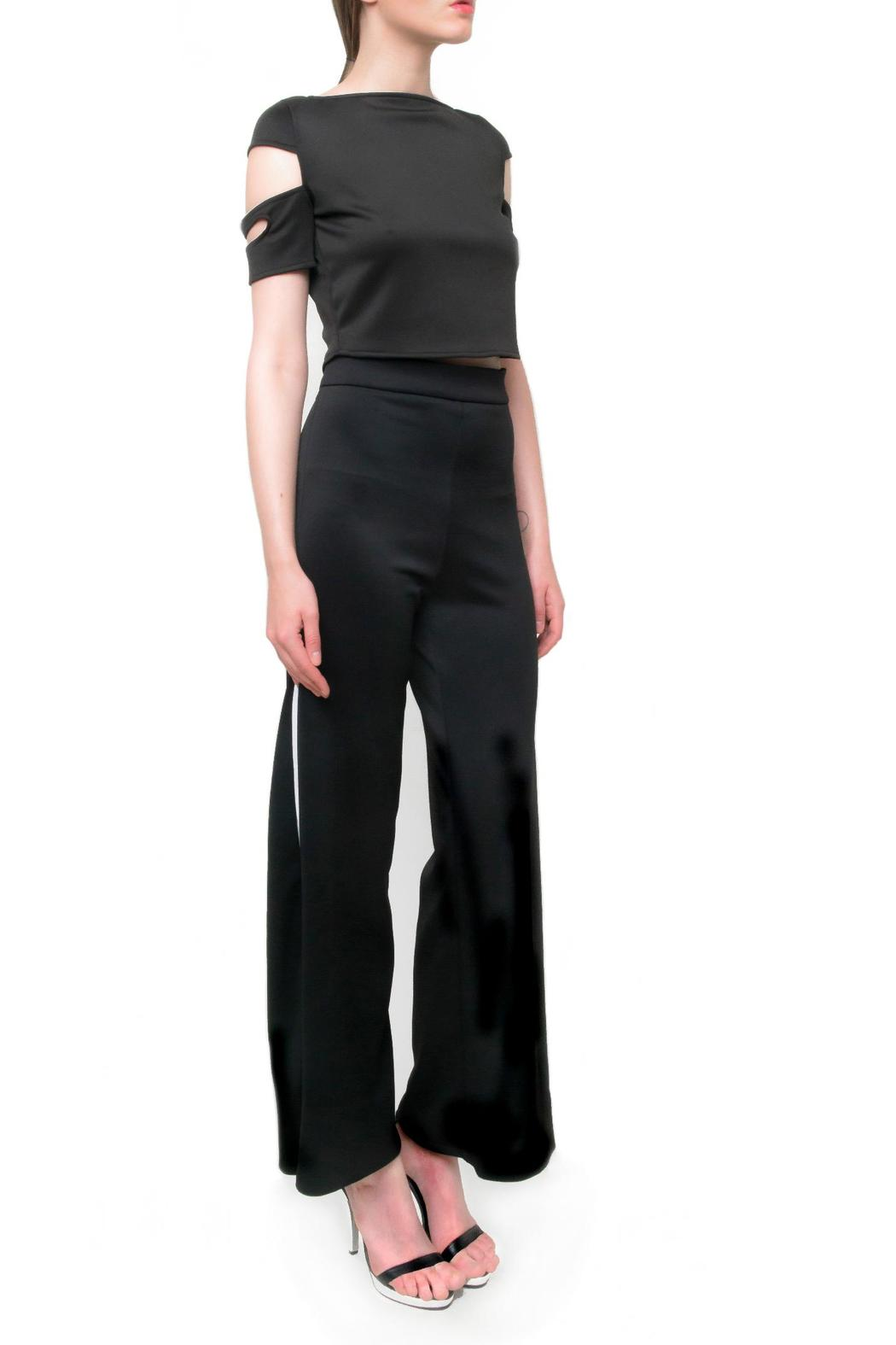 Aubert Design Taylor Trousers - Side Cropped Image