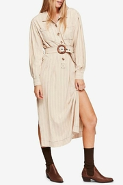Free People Aubrey Belted Shirt - Product Mini Image