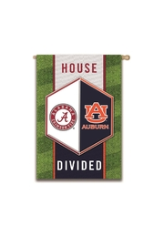 Evergreen Enterprises Auburn/alabama Divided Flag - Front full body