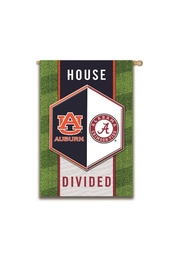 Evergreen Enterprises Auburn/alabama Divided Flag - Front cropped