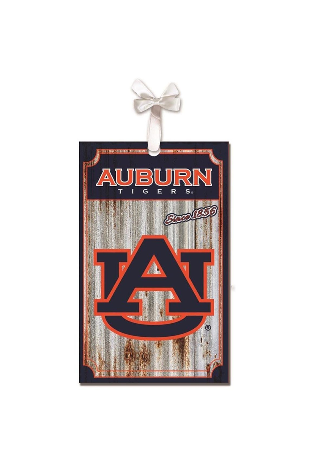 Heritage Auburn Corrugated Ornament - Main Image