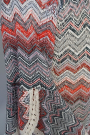 Auditions Chevron Sweater Tunic - Front cropped