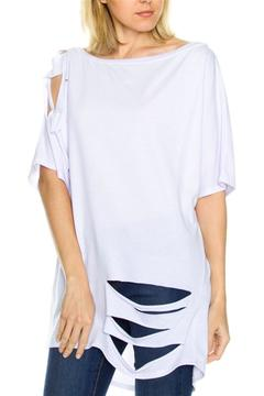 Shoptiques Product: Distressed Tunic Top