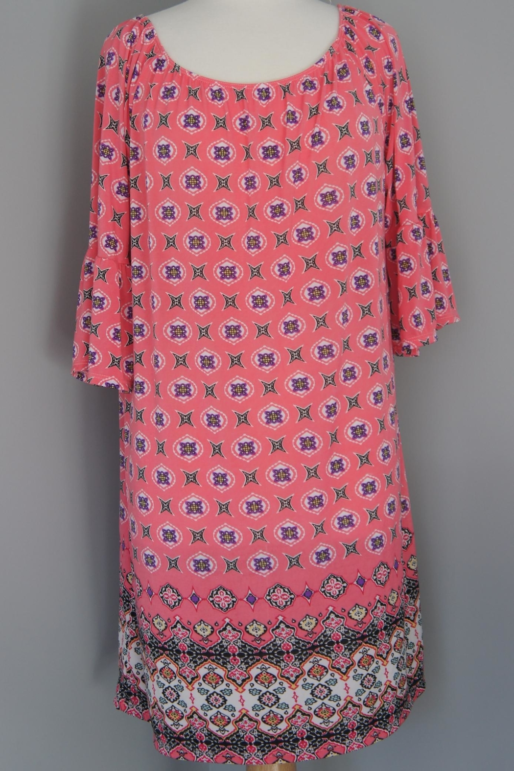 Auditions Eclectic Print Tunic - Main Image