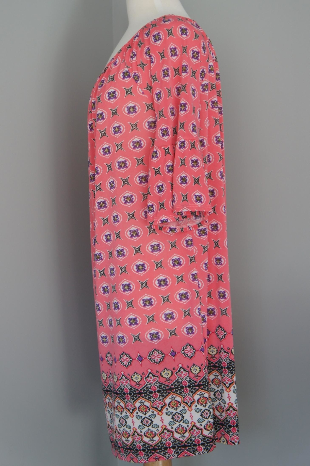 Auditions Eclectic Print Tunic - Front Full Image