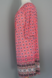 Auditions Eclectic Print Tunic - Front full body
