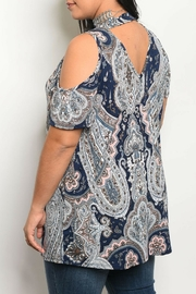 Auditions Multi Print Top - Front full body