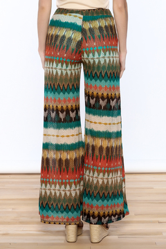 Auditions Printed Palazzo Pant - Alternate List Image
