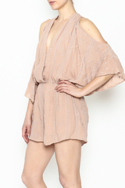 Audrey 3+1 Blush Embroidered Romper - Product Mini Image