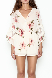 Audrey 3+1 Floral Lace Romper - Front full body