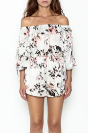 Audrey 3+1 Floral Print Romper - Front full body
