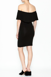 Audrey 3+1 Off Shoulder Cindy Dress - Back cropped