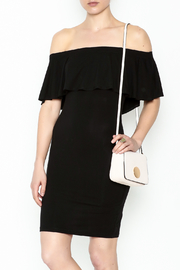 Audrey 3+1 Off Shoulder Cindy Dress - Front cropped