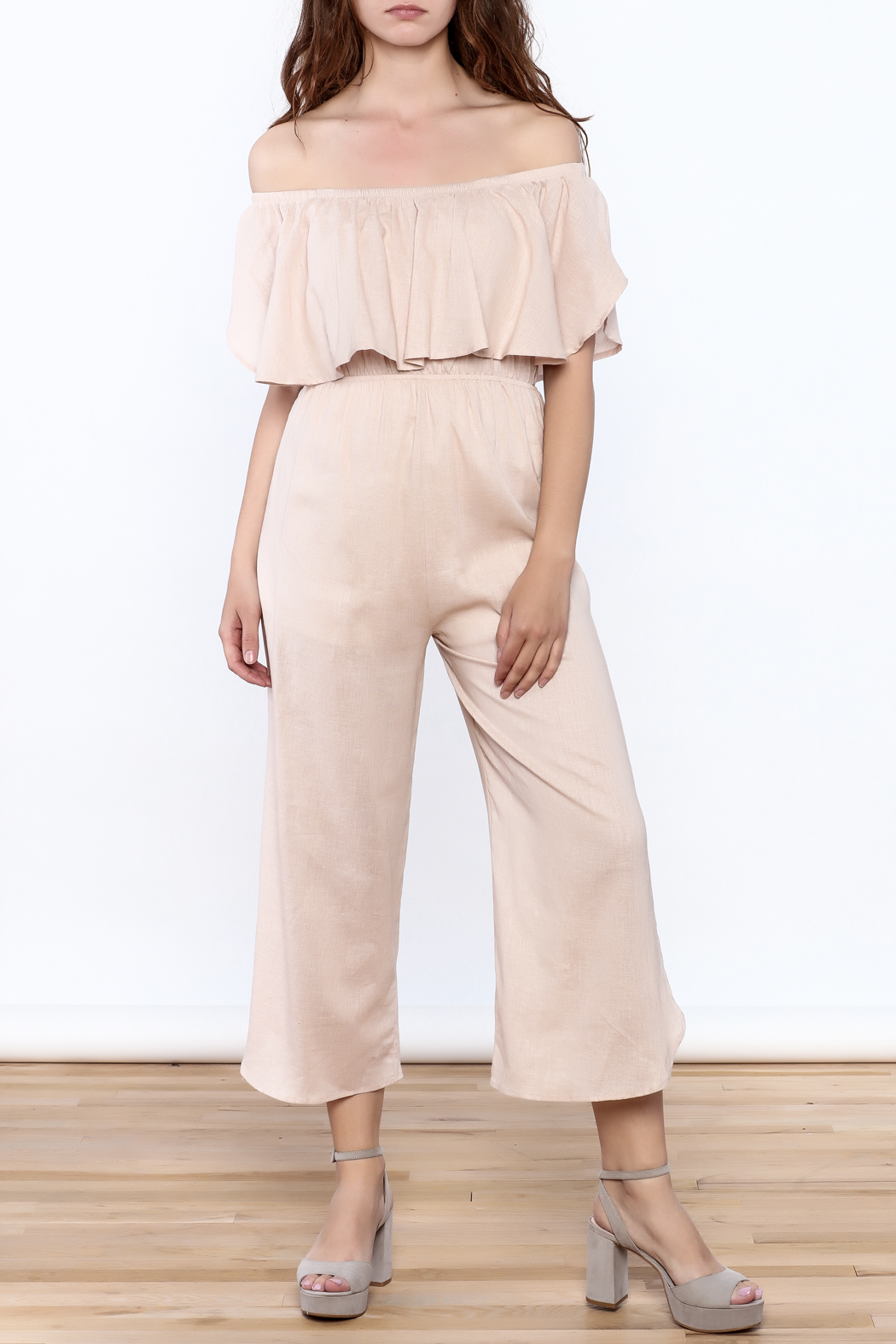 Audrey 3+1 Blush Pink Jumpsuit from Louisiana by Bella Bella ...