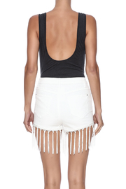 Audrey 3+1 Plunge Neck Bodysuit - Back cropped