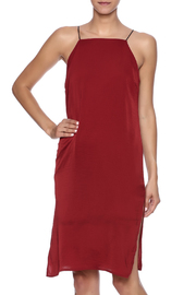 Audrey 3+1 Red Slip Dress - Product Mini Image