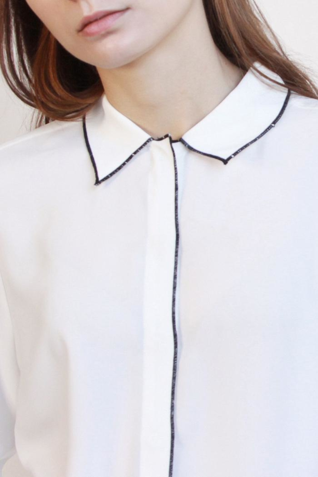 Mod Ref Audrey Button Up - Front Cropped Image