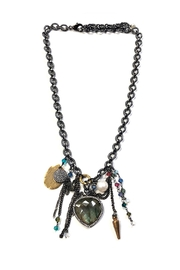 Lets Accessorize Audrey Charm Necklace - Product Mini Image