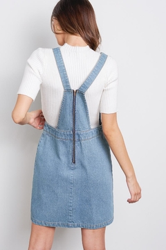 Audrey Denim Overall Skirt - Alternate List Image