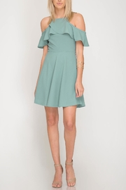 She + Sky Audrey Flare Dress - Product Mini Image