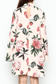 Audrey Floral Print Long Sleeve - Back cropped