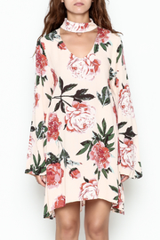 Audrey Floral Print Long Sleeve - Front full body