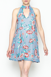 Audrey Floral Print Dress - Product Mini Image