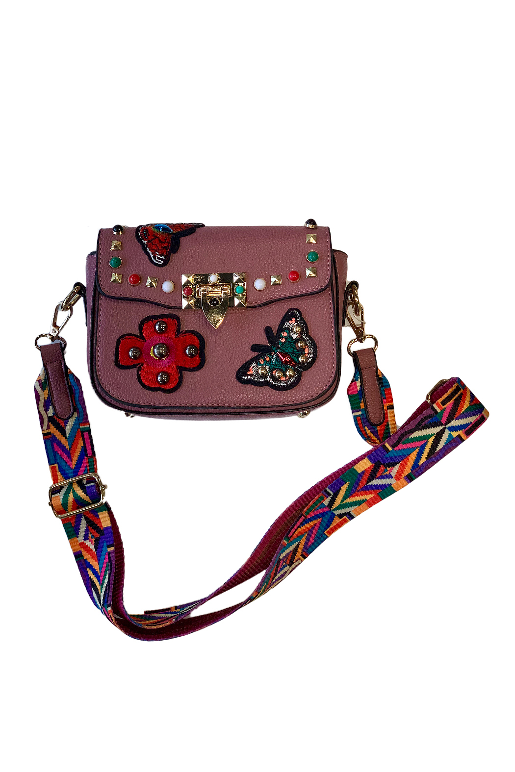 CHLOE K. NEW YORK Audrey Girls Bag - Front Cropped Image