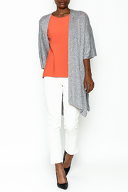 Audrey Grey Knit Cardigan - Side cropped