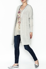 Audrey Hooded Cardigan - Side cropped