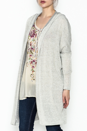 Audrey Hooded Cardigan - Front cropped