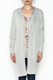 Audrey Hooded Cardigan - Front full body