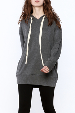 Audrey Grey Tunic Sweater - Product List Image