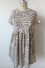 Audrey Lil Leopard Dress - Product Mini Image