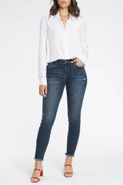 Pistola Audrey Mid Rise Skinny Jean - Front cropped