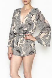 Audrey Printed Romper - Product Mini Image