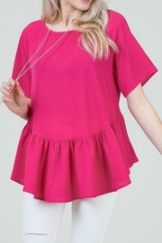Red Lolly Audrey Ruffle Blouse - Product Mini Image