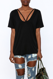 Audrey Casual Long Tee - Side cropped