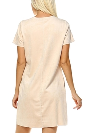 JOH Audrey Suede Dress - Front full body