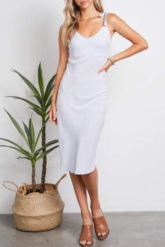Audrey Tie Shoulder Dress - Product List Image
