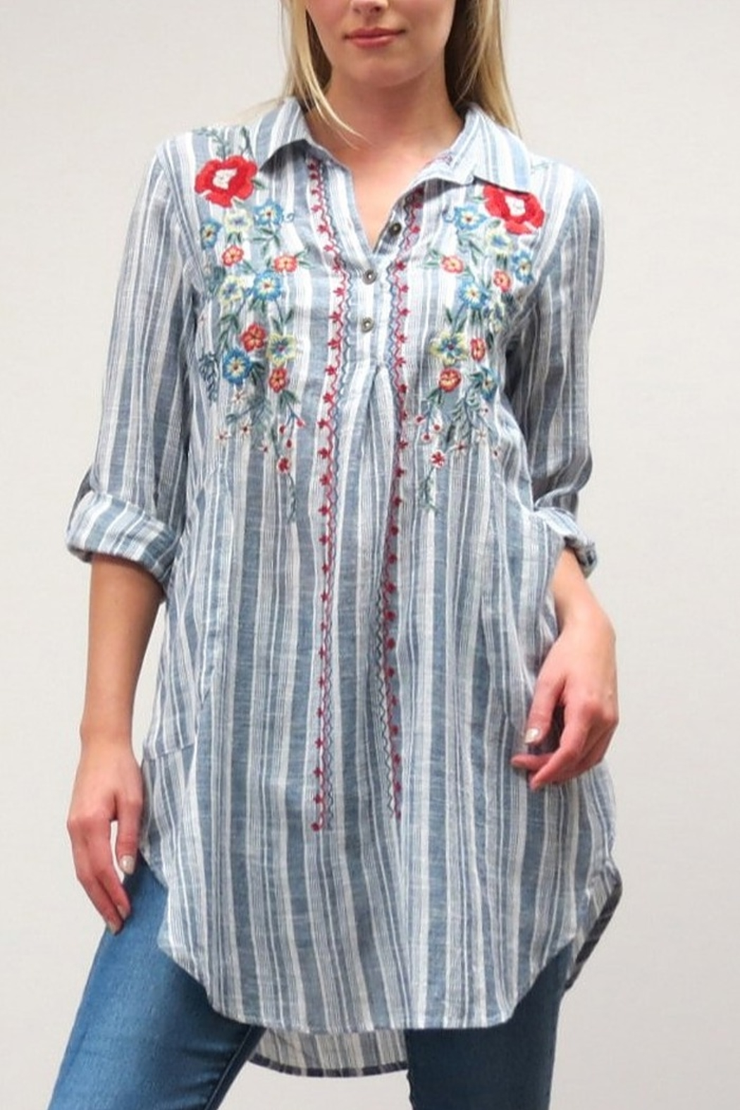 Caite Audrey Tunic - Front Cropped Image