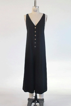 Audrey 3+1 Button Front Overalls - Product List Image